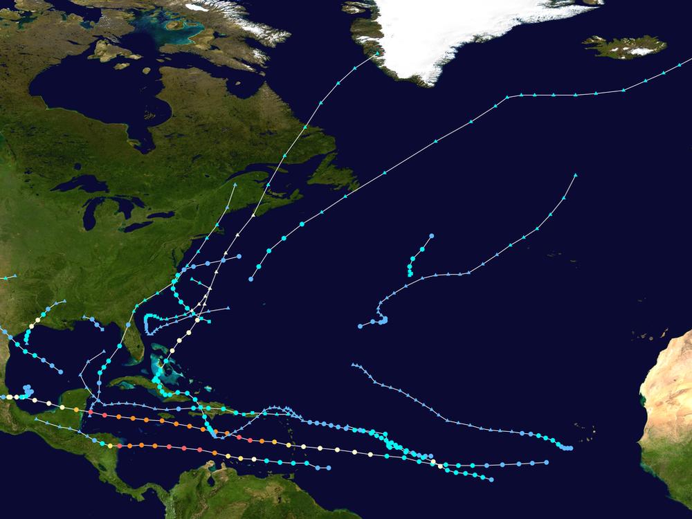 Atlantic tropical storm season