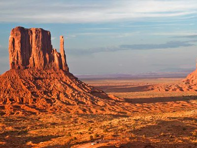 Monument Valley is not a national park. There aren't signs and rangers all around explaining the landscape and wildlife.