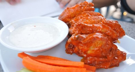 The chicken wing