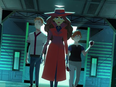 Netflix's animated series, Carmen Sandiego, just released its second season.