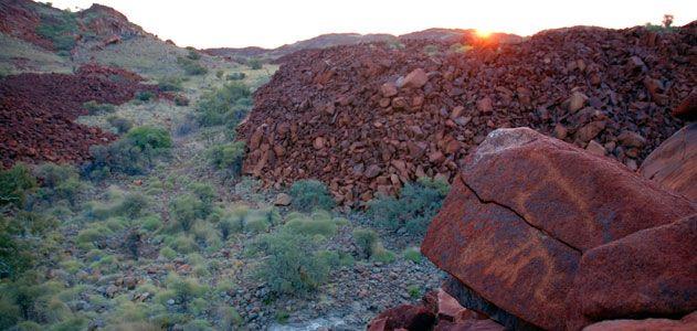 Dampier Rock Art Complex Australia