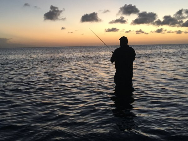 husband fishing at the south padre island  thumbnail