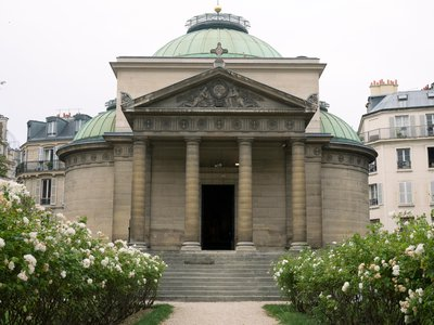 More than 500 people guillotined during the French Revolution may have been buried in the walls of this 19th-century chapel.