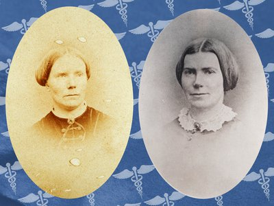 Elizabeth and Emily Blackwell were the first and third women doctors in the United States.