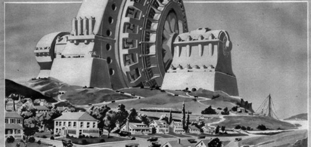 Hugo Gernsback's vision for a monument devoted to electricity (1922)