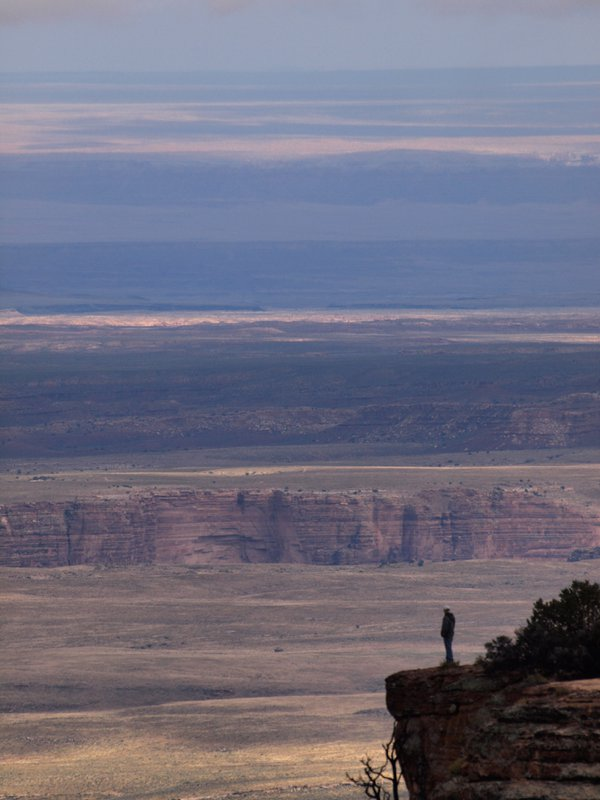 Distant view near the Grand Canyon thumbnail