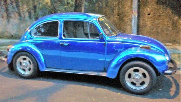 Brilliant Blue Beetle thumbnail