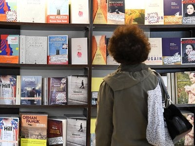"""""""When so many books are published,"""" debut author Natasha Randall tells BBC News, """"there is an awful lot of noise you have to compete with."""""""