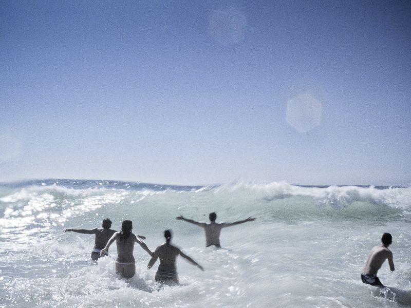 The Atlantic Ocean stock image. Image of health, long