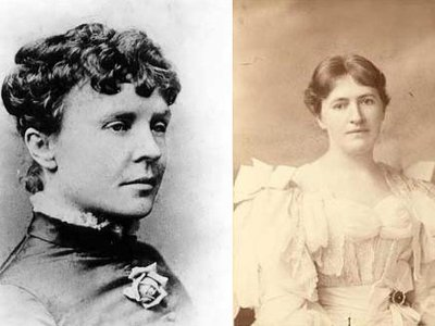 Rose Cleveland (left) and Evangeline Simpson Whipple (right) exchanged passionate love letters throughout the course of their nearly 30-year relationship