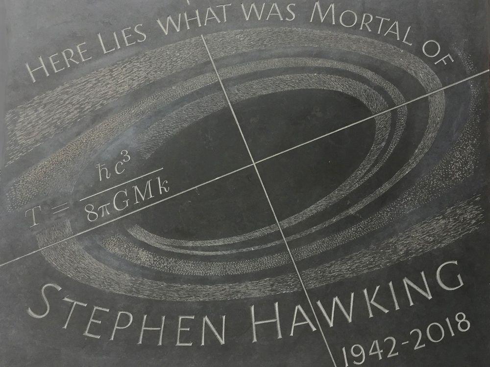 Hawking Memorial