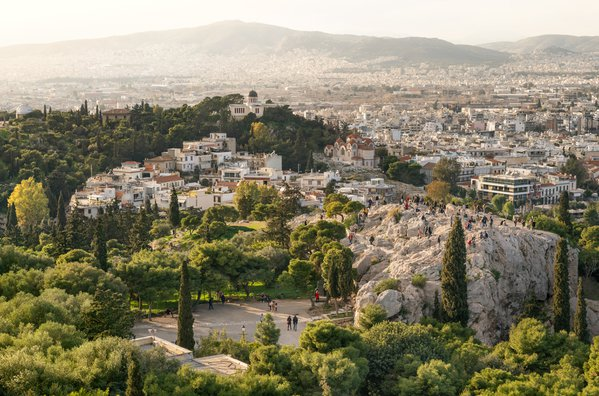 In Athens. Cityscape thumbnail