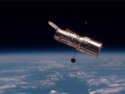 After about a month of darkness, Hubble is back online and already collection impressive scientific data.