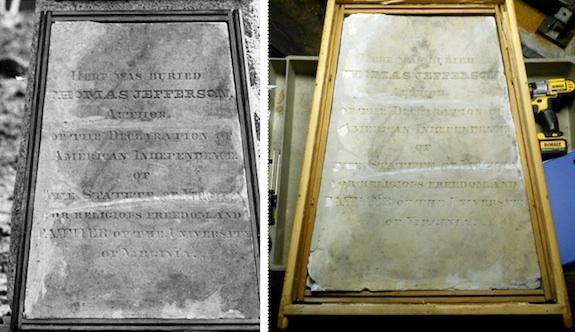 From Virginia to Missouri to the Smithsonian: Jefferson's Tombstone Has a Long Story