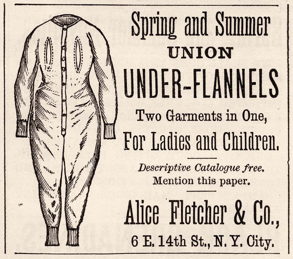 How 19th-Century Activists Ditched Corsets for One-Piece Long Underwear
