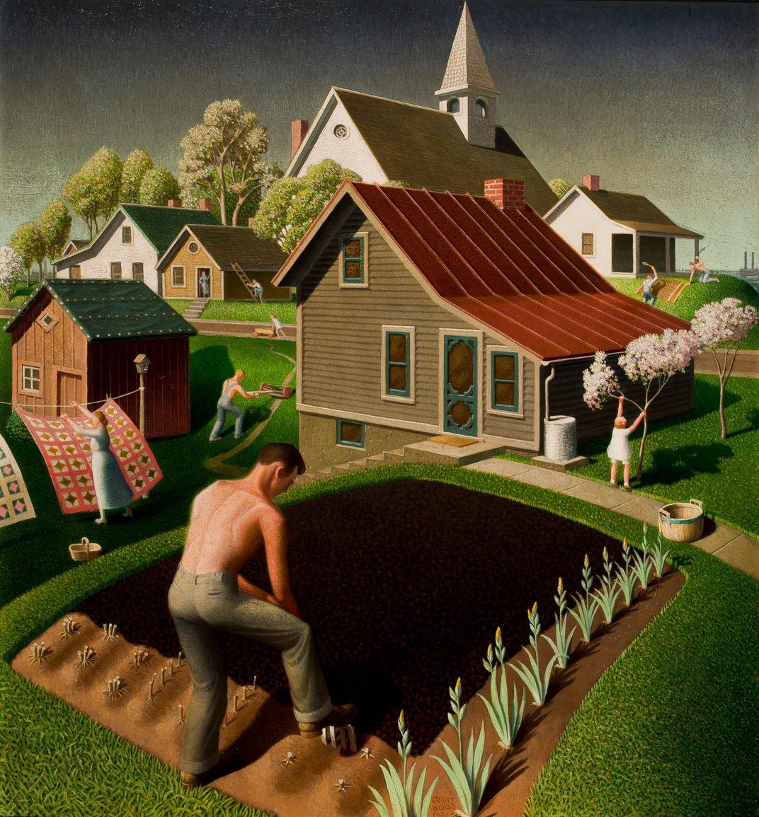 In Search of the Real Grant Wood