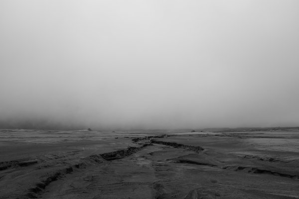 An ashy field near Mount Bromo, Indonesia thumbnail