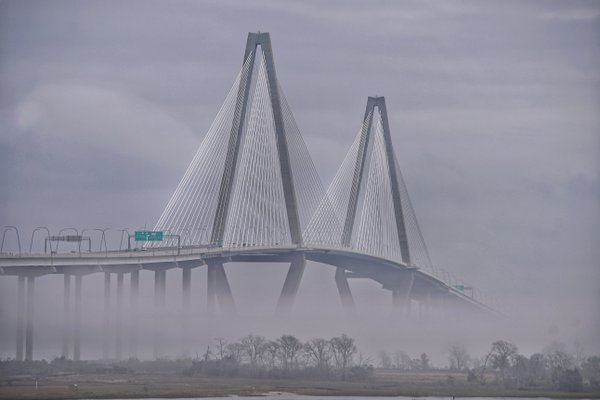 The Bridge with foggy weather thumbnail