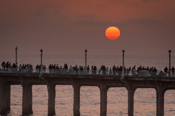 Sunset at Manhattan Beach thumbnail