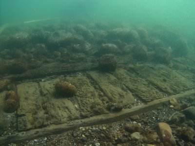 The Delmenhorst sank in an October 1644 maritime battle.