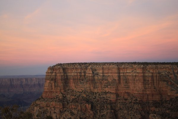 Golden hour sunset in the Grand Canyon thumbnail