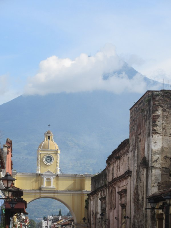 Santa Catalina Arch in Antigua, Guatemala thumbnail