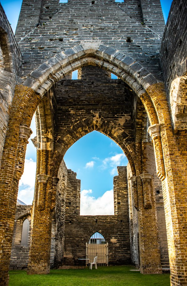 Unfinished Church In Bermuda thumbnail