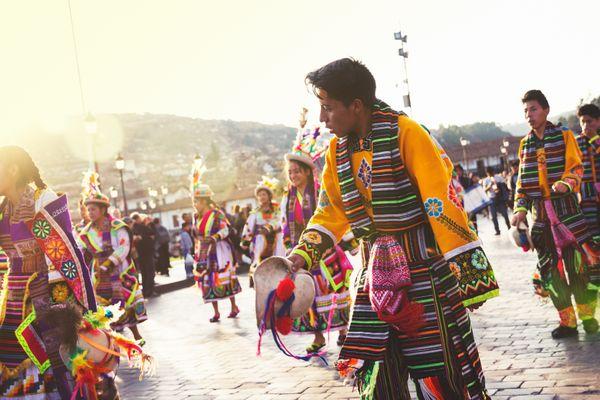 Cusco street celebrations thumbnail