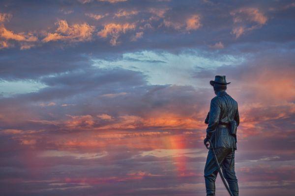 Rainbow at Gettysburg thumbnail