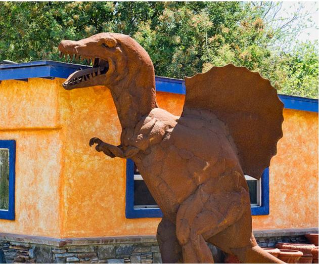 Spinosaurus Scoop, Gilroy, California