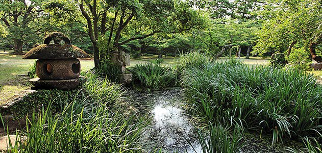 Hagi Castle Shizuki Park
