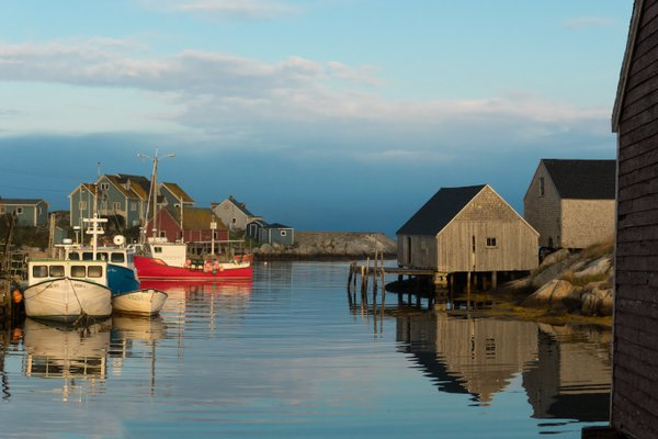 The village of Peggy's Cove Canada thumbnail