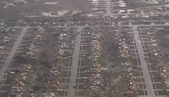 How to Understand the Scale of the Oklahoma Tornado