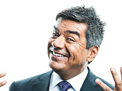 """""""I see it [comedy] changing by having the comedy club come to your house,"""" says comedian George Lopez."""