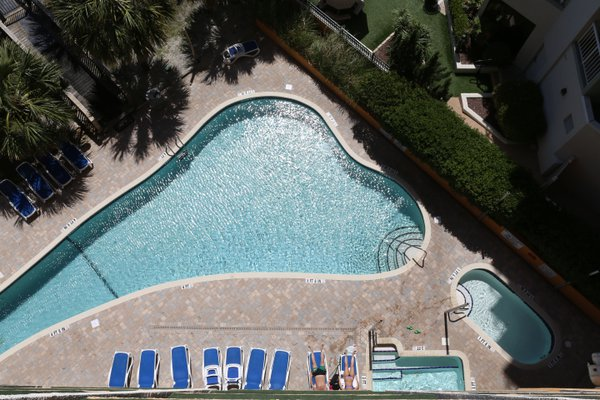 Ariel view of Myrtle Beach pool thumbnail