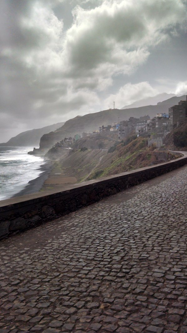 Along the costal road in Santo Antao, Cape Verde thumbnail