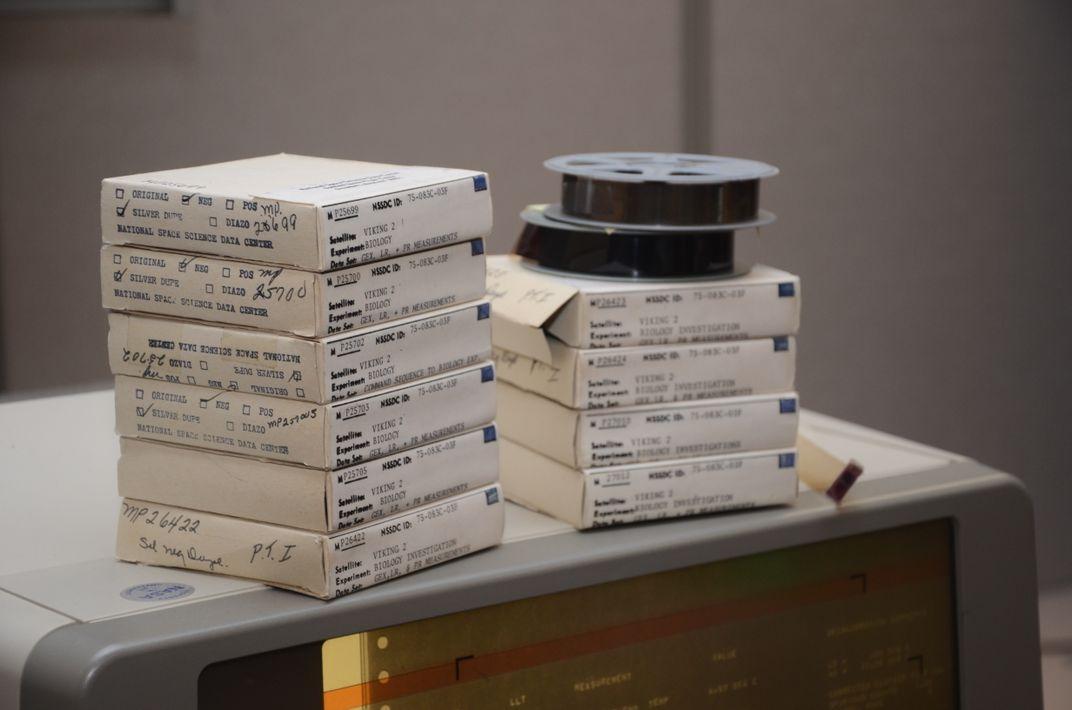 NASA Is Finally Digitizing the Viking Mission's 40-Year-Old Data