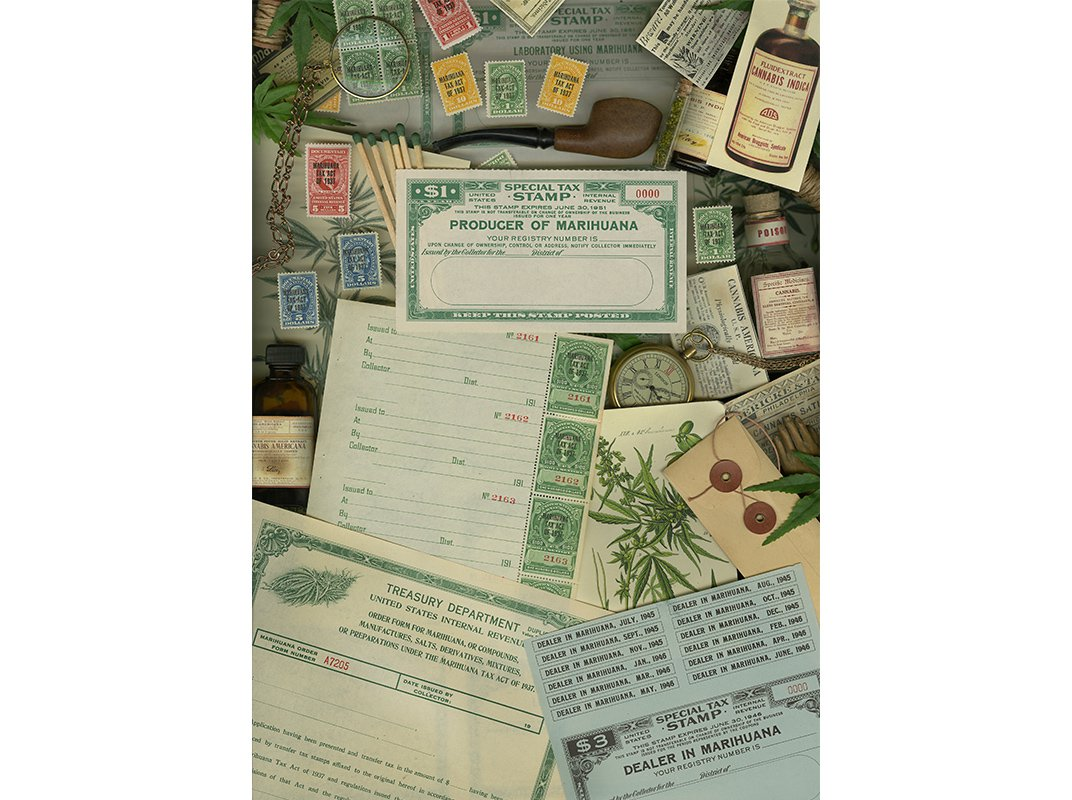 Before Reefer Madness, High Times and 4/20, There Was the Marijuana Revenue Stamp