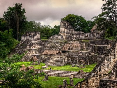 Decades before Teotihuacán's conquest of Tikal in 378 A.D., the two cities may have enjoyed a friendly relationship.