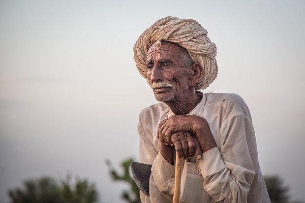Indian Goat Herder in Rajasthan thumbnail
