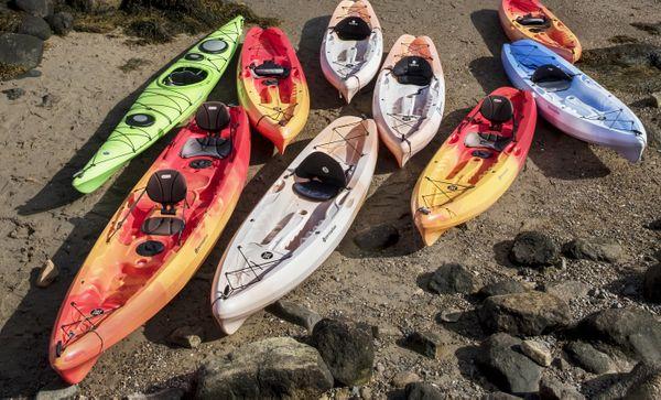 Beached Pod of Kayaks thumbnail