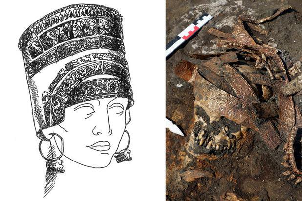 Tomb Containing Three Generations of Warrior Women Unearthed in Russia