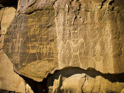 Petroglyphs in Utah