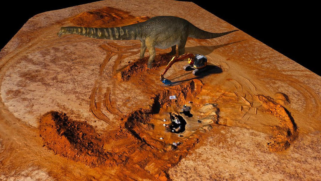 Two Farmers Found the Largest Dinosaur Ever Unearthed in Australia