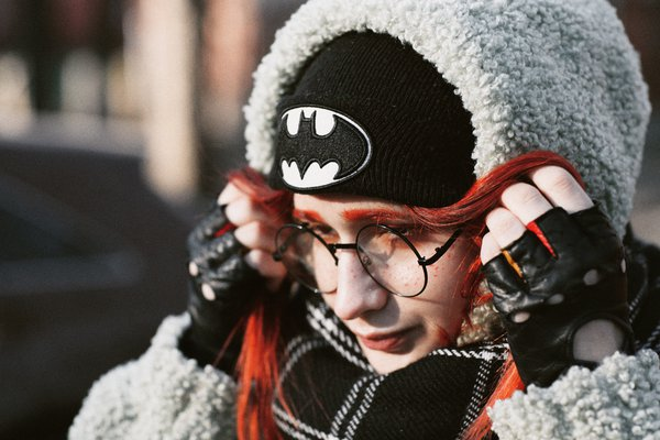 portrait of a red-haired girl thumbnail