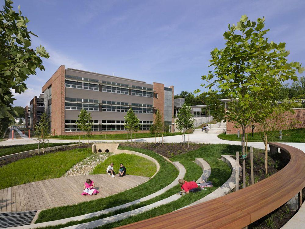 Manassas Park Elementary School, Manassas, Virginia. Architect: VMDO Architects, PC.