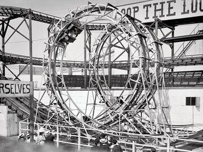 Loop the Loop at Coney Island, 1903