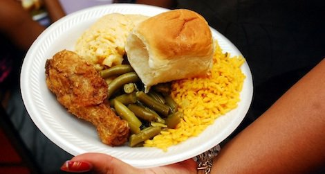 Hurt says now when he visits soul food restaurants