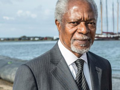 Kofi Annan, the seventh secretary-general of the United Nations, passed away this weekend.