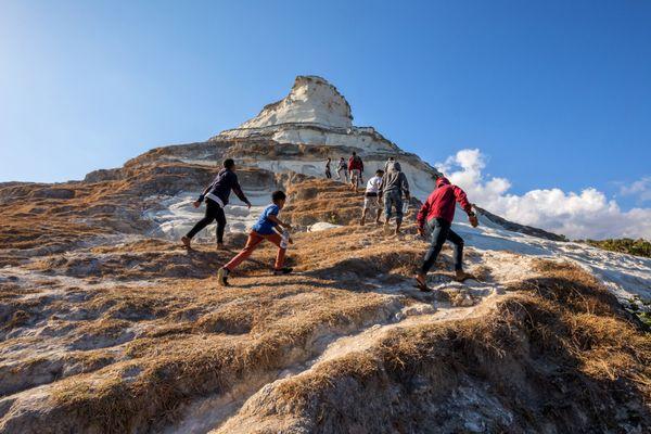 Climbing The Limestone Mountain thumbnail